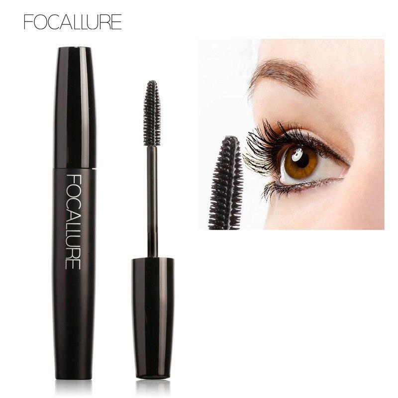 FOCALLURE Volume Curled Eye Lashes Black Mascara Waterproof Curling Thick Eyelashes Lengthening Eye Makeup Mascara TSLM2