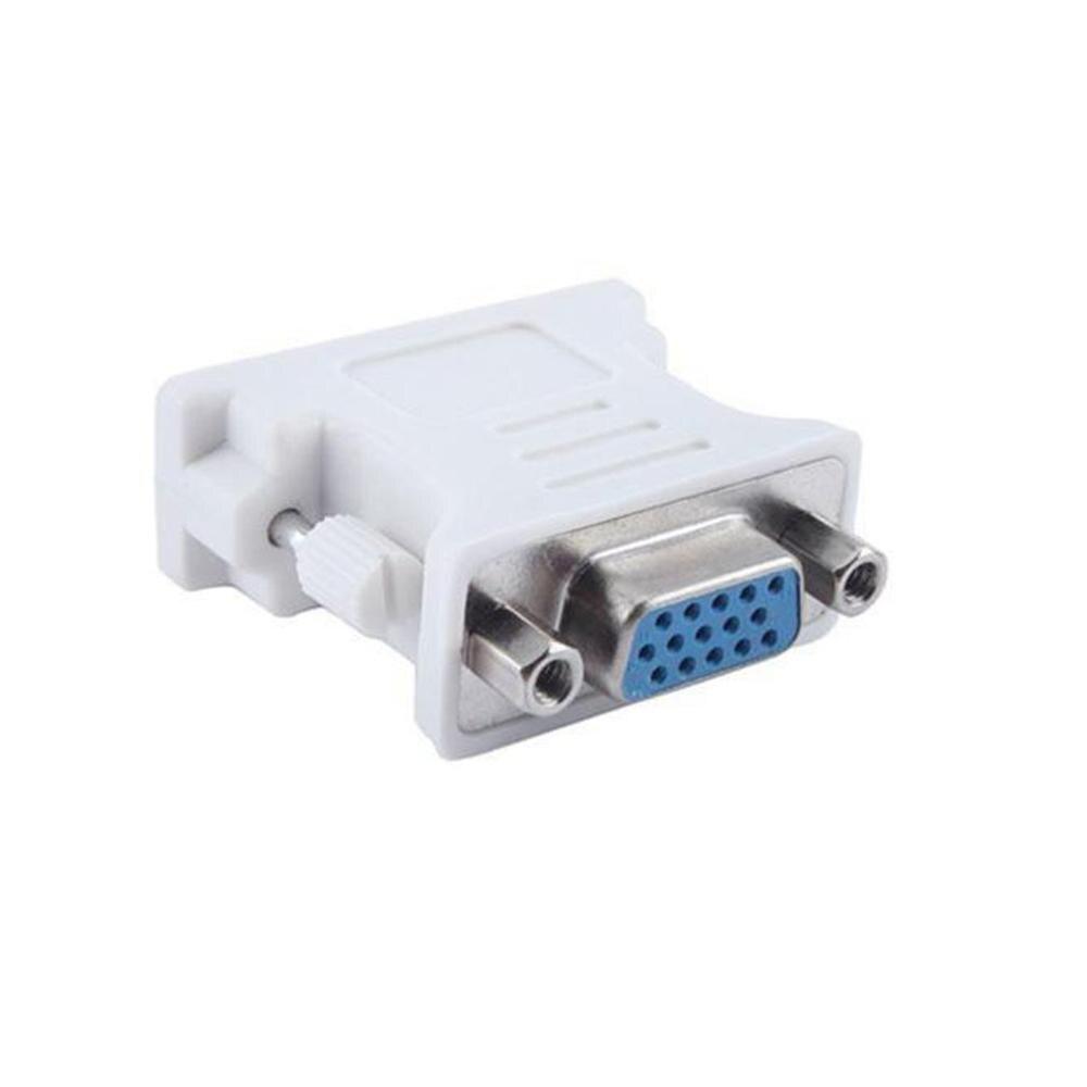 Adaptador/convertidor de vídeo Universal DVI-I 24 + 5 pines DVI macho a...
