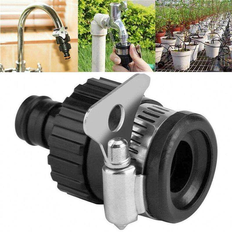 Универсальный соединитель для сада, шланг для ванной, кухни, раковины, адаптер для водопроводного крана, универсальный фитинг для полива во... расширитель для водопроводного крана телескопический фильтр для ванной и кухни