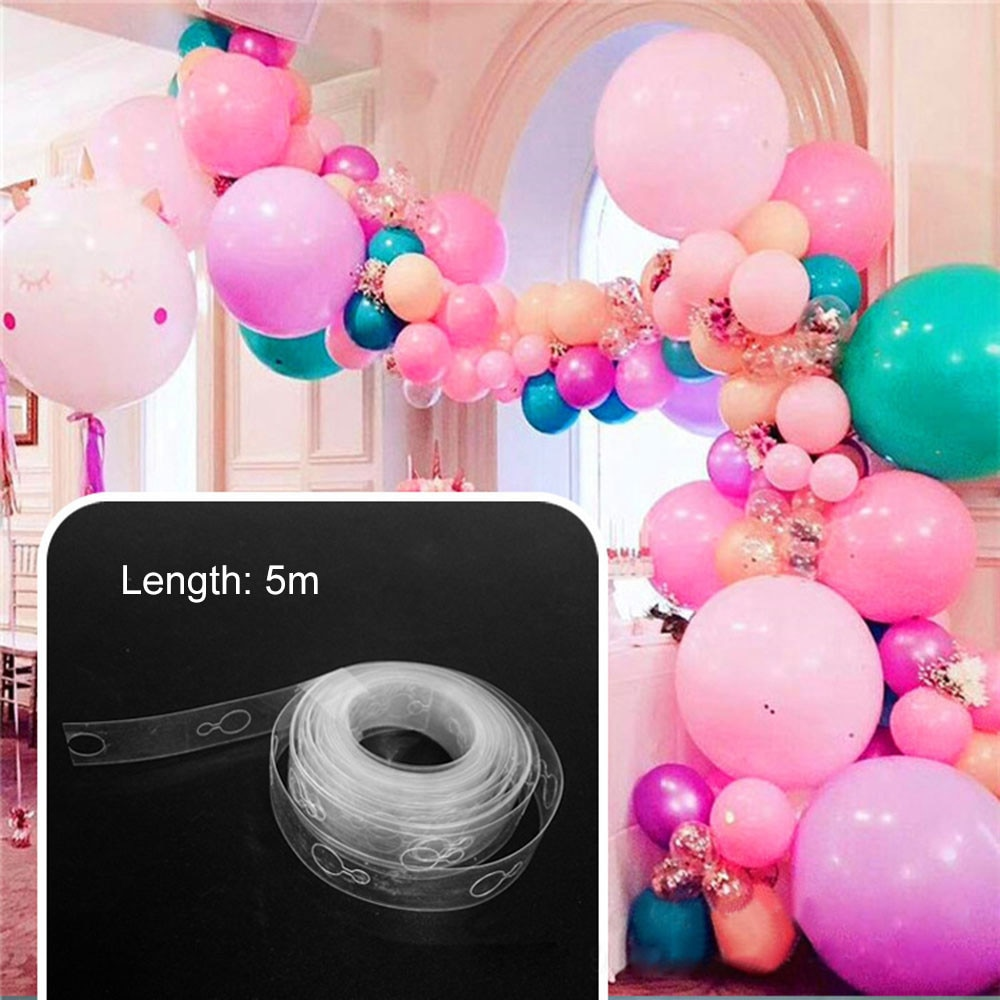 5 м воздушные шары аксессуары воздушная цепочка ПВХ резиновые вечерние украшения на день рождения свадебные декорации воздушные шары цепоч...