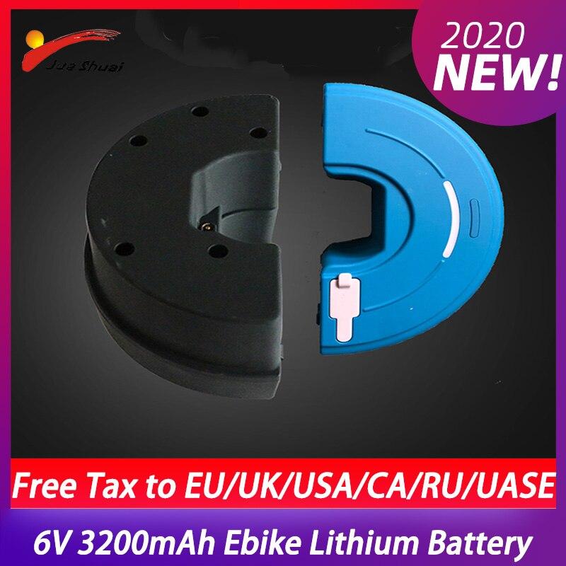 Ebike Lithium-Batterie 36V 3200mAh für iMortor Elektrische Bike Schwarz USB Wechsler Power Bank Batterie Velo Electrique E fahrrad Teile
