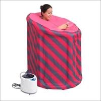 portable steam sauna home sauna generator slimming household sauna box ease insomnia beneficial full body healthy 2l1 5l