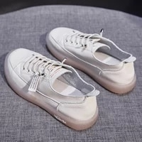 fashion shoes womens vulcanize shoes spring summer new casual classic genuine leather shoes women casual white shoes sneakers