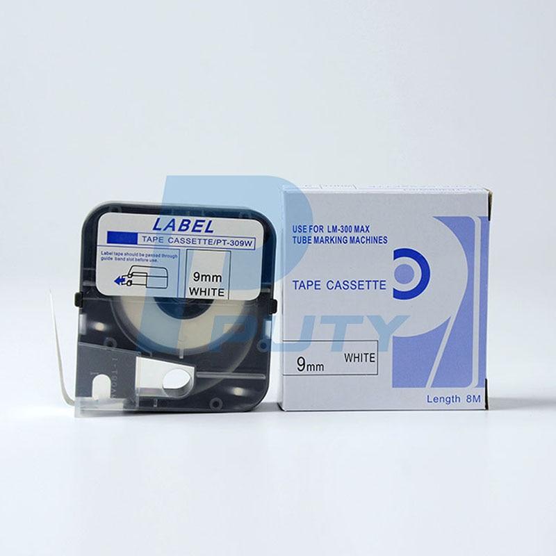 10PK ماكس ماكينة خط الإنتاج ملصقات LM-TP309W (أبيض) ينطبق على ماكس LM-370A 380 E 390A ماكينة خط الإنتاج
