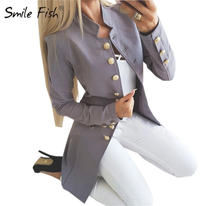 Abrigo largo para mujer de oficina, moda general, chaqueta entallada de un solo pecho para invierno, chaqueta sólida para mujer, rojo, negro, ropa de calle de manga larga M0235
