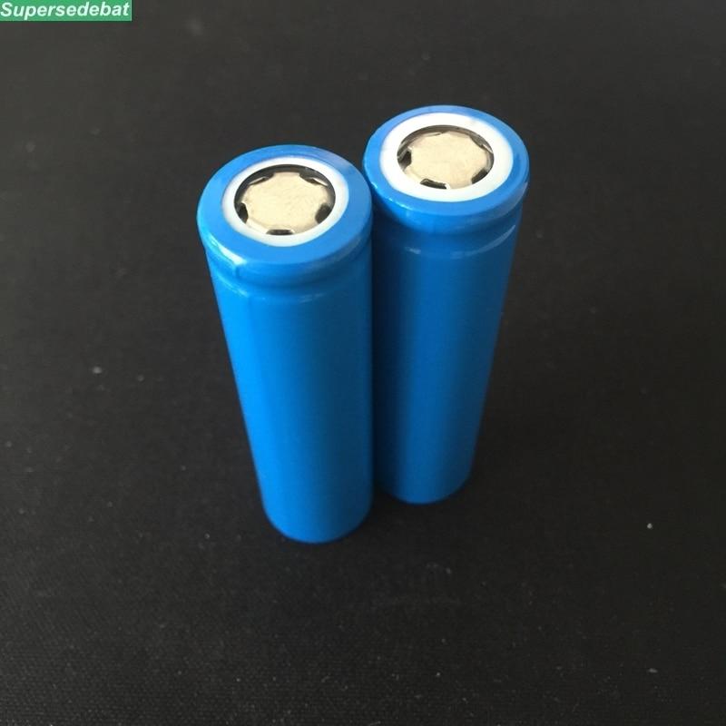 Supersedebat bateria 3,7 V 1200 mAh 18650 batería recargable de iones de litio para baterías 18650-12F 18650 12F 1200 mAh