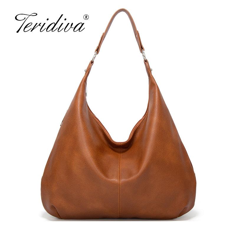 2020 New Dumpling Hobos Bags for Ladies Large Capacity Shoulder Bags Simple Fashion Design Women Handbags Large Casual Totes