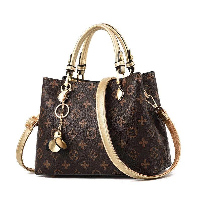 الإناث حمل حقيبة المصممين حقيبة يد فاخرة مطبوعة دلو بسيط المرأة حقيبة العلامة التجارية الشهيرة حقيبة كتف السيدات