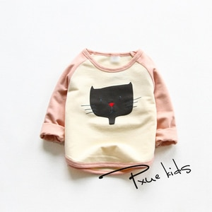 Children's Hoodies Kids Cute Cartoon Print Sweatshirts Baby Pullover Tops Girls Boys Autumn Clothes Cheap