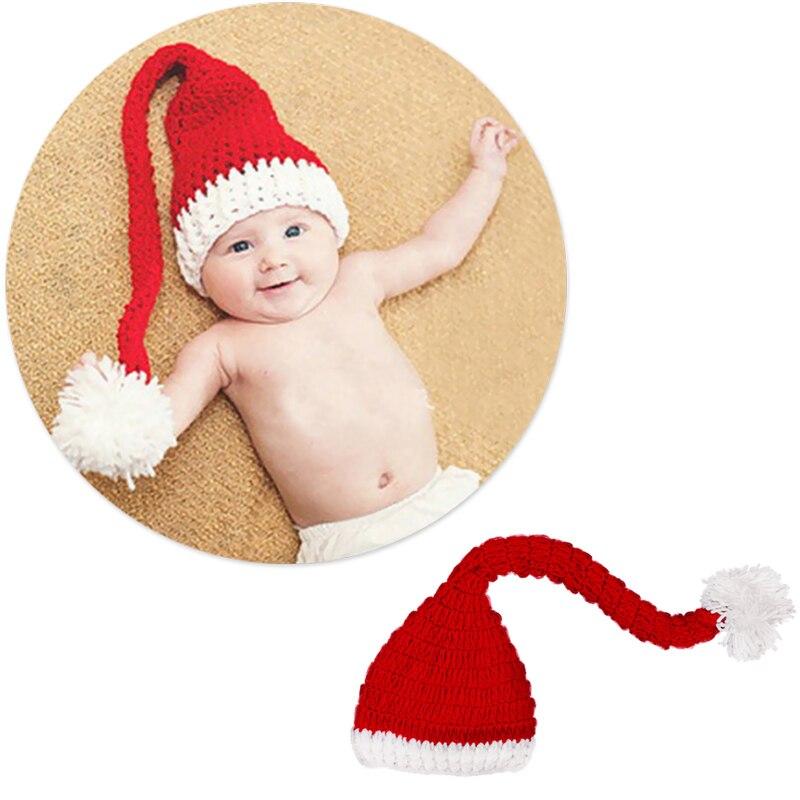 Bebé-Sombrero de punto festiva de Navidad sombrero de invierno sombreros chicos chicas Linda gorrita tejida N1HB