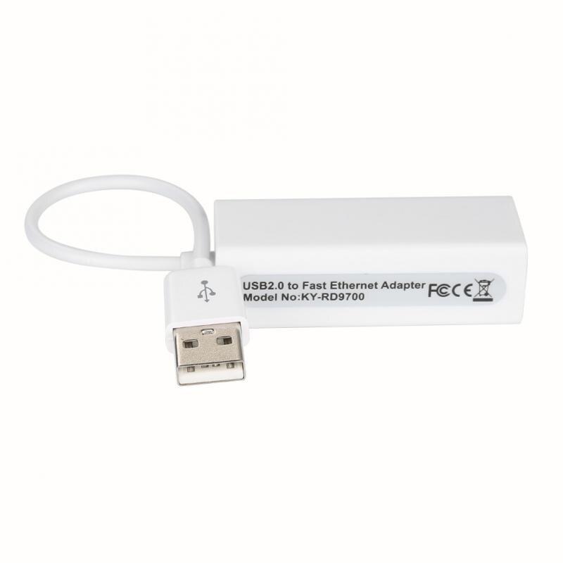 Adaptador de tarjeta adaptadora LAN a red Ethernet, dispositivo USB 2,0 de...