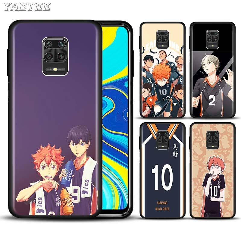 Haikyuu Hinata attacks Anime Phone Case for Xiaomi Redmi Note 8T 9S 6 7 8 9 Pro 10X Pro 5G 6A 7A 8A K20 K30 Silicone Soft Cover