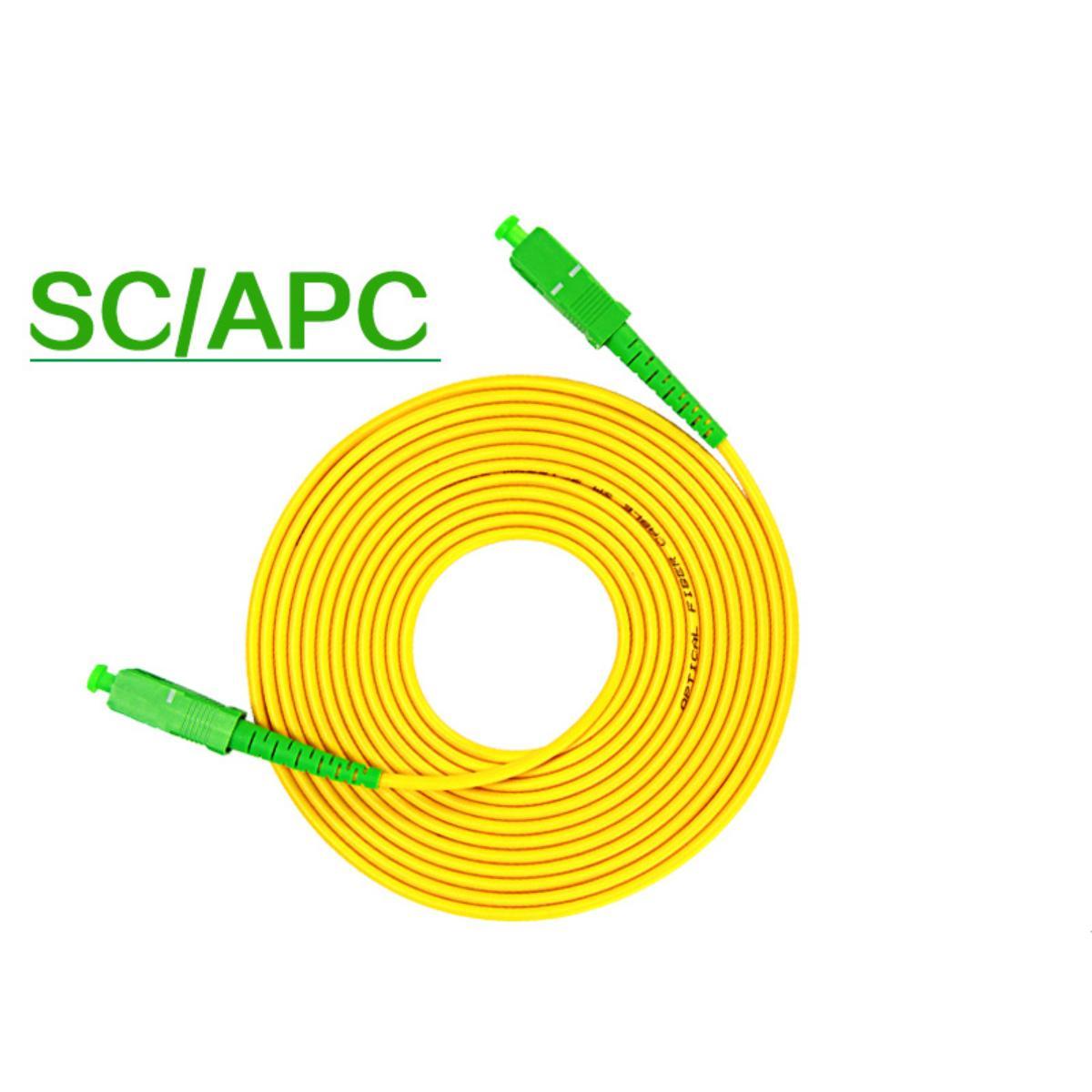 SC/APC-SC/APC3/5/10/20/40 метров одномодовый одножильный волоконно-оптический джемпер 3,0 Pigtail, цена-сюрприз