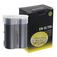 EN-EL15b EN-EL15A EN-EL15 Batterie Pour Appareil Photo Nikon Z6 Z7 Hybride D850 D810 D750 D610 D7500 D7200 MH-25a