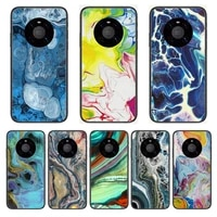 abstract style phone case for huawei mate 30 10 20 40 lite smart z pro black etui 3d coque painting hoesjes case