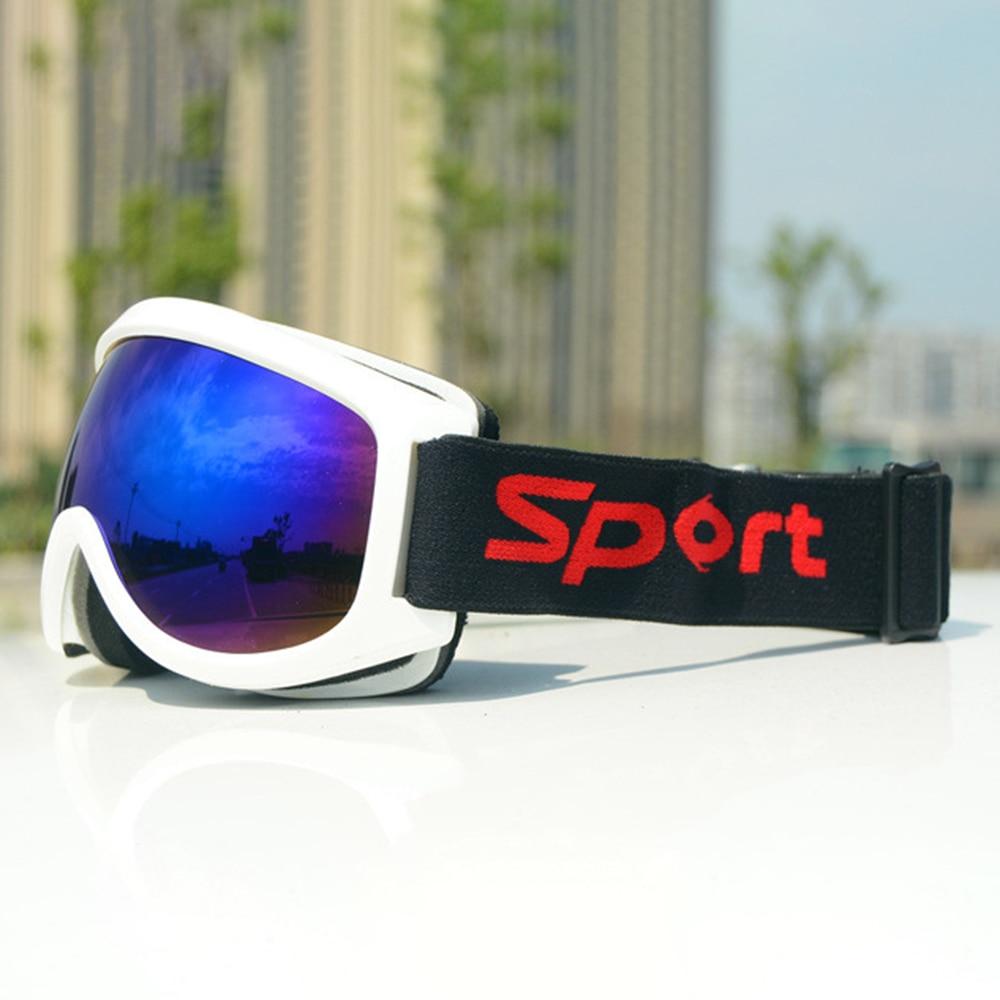 Professional ski goggles lens anti-fog UV400 ski glasses skiing men women snow goggles Safety Eye Protection Glasses Eyewear  - buy with discount