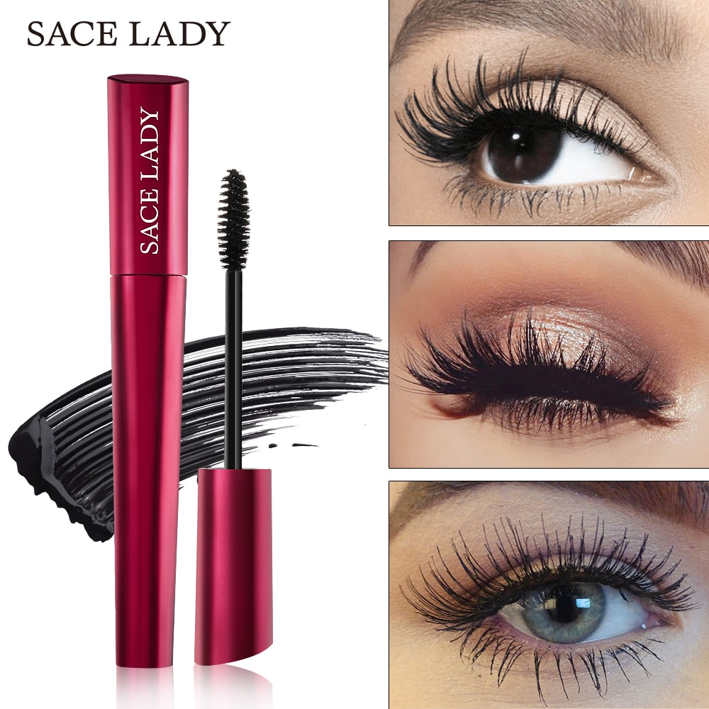 11,11 SACE LADY maquillaje 4D pestañas rímel impermeable Rimel pestañas extensión negro grueso alargar ojos cosméticos para pestañas