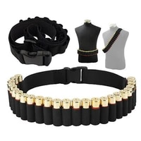 25 rounds shotgun bandoleer bandolier for 12ga 20ga shell holder ammo belt sling airsoft bullet shell holder hunting ammo pouch