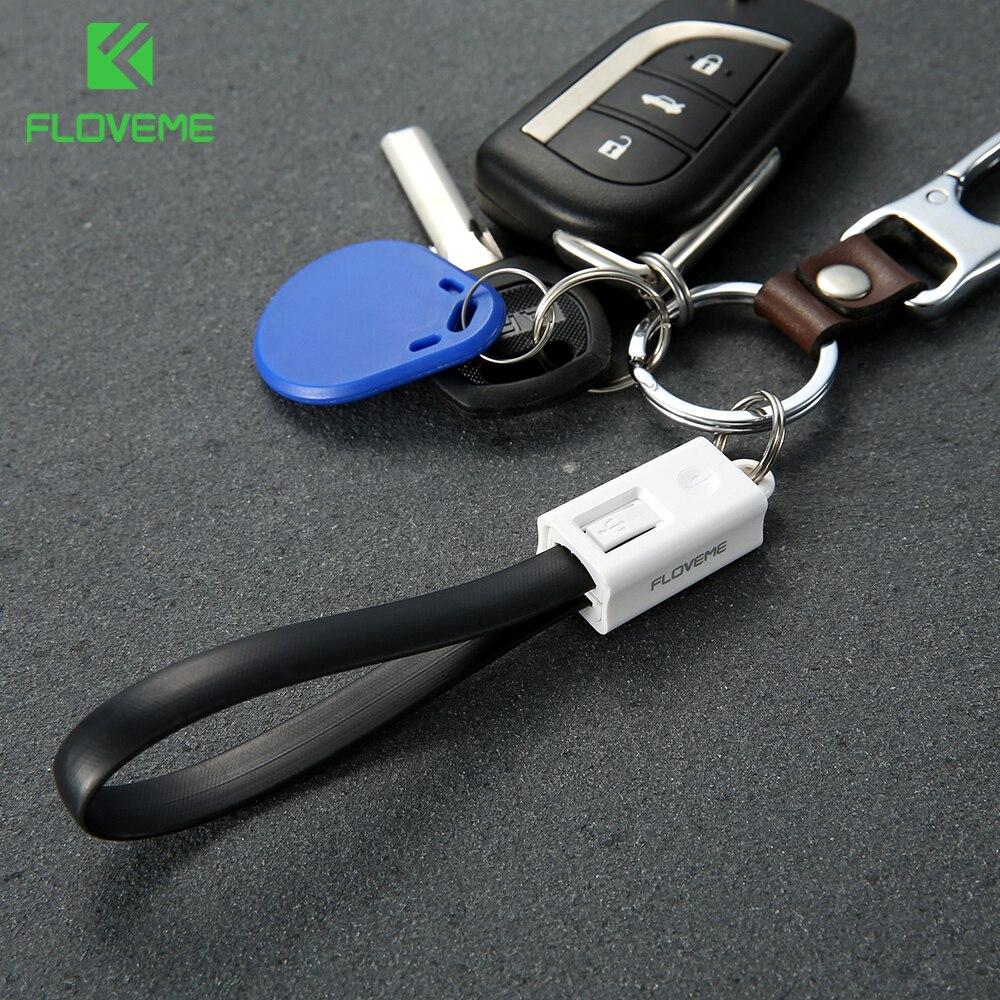 FLOVEME-Cable de carga Micro USB tipo C para iphone, 11 Pro Max,...