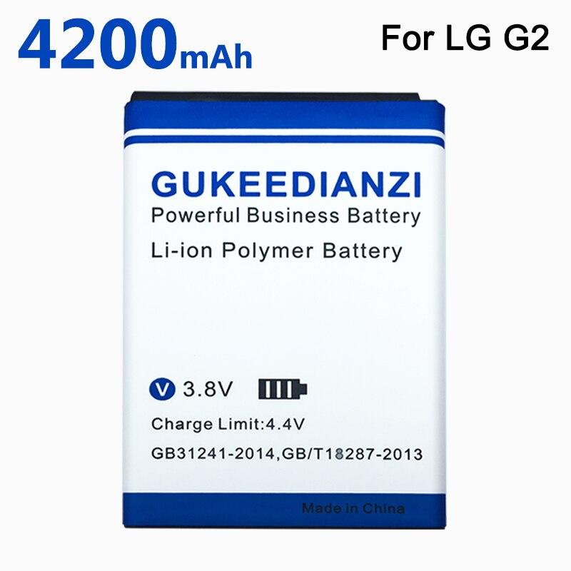 Nueva 4200mAh BL-54SG (BL-54SH) de la batería para LG G2 F320 F340L H522Y 2610mAh F260 D728 D729 H778 H779 D722 LG lg 90 D410