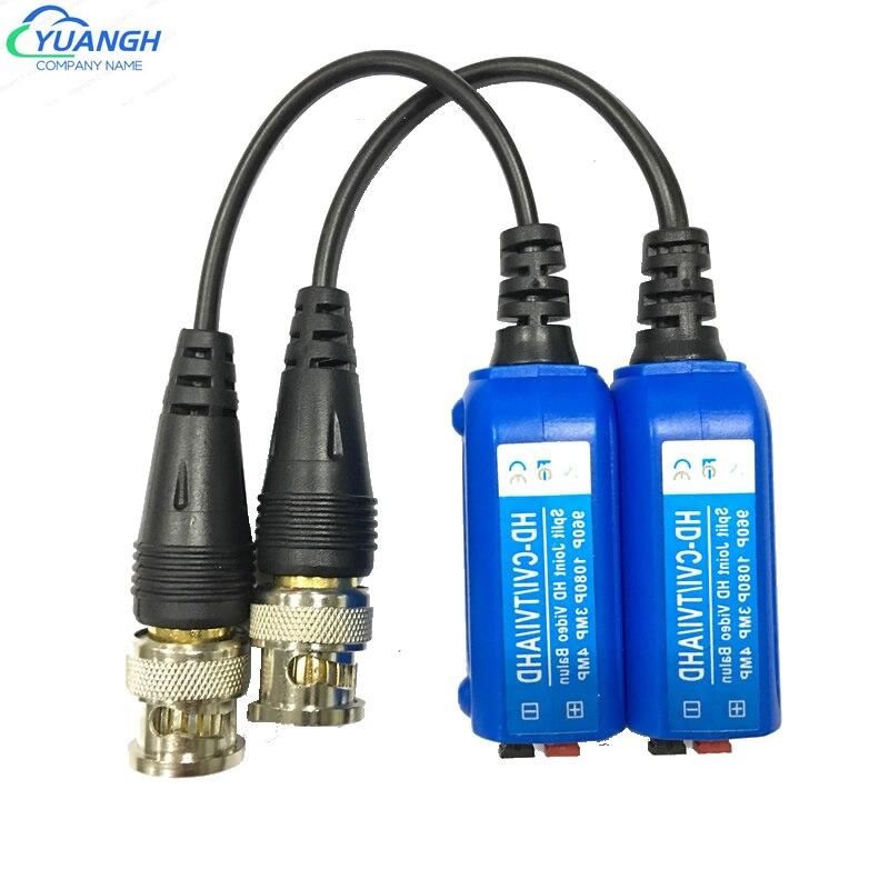 10 пар 4MP CCTV витая пара BNC пассивный трансивер UTP Video Balun для HD CVI/AHD/TVI камеры видеонаблюдения