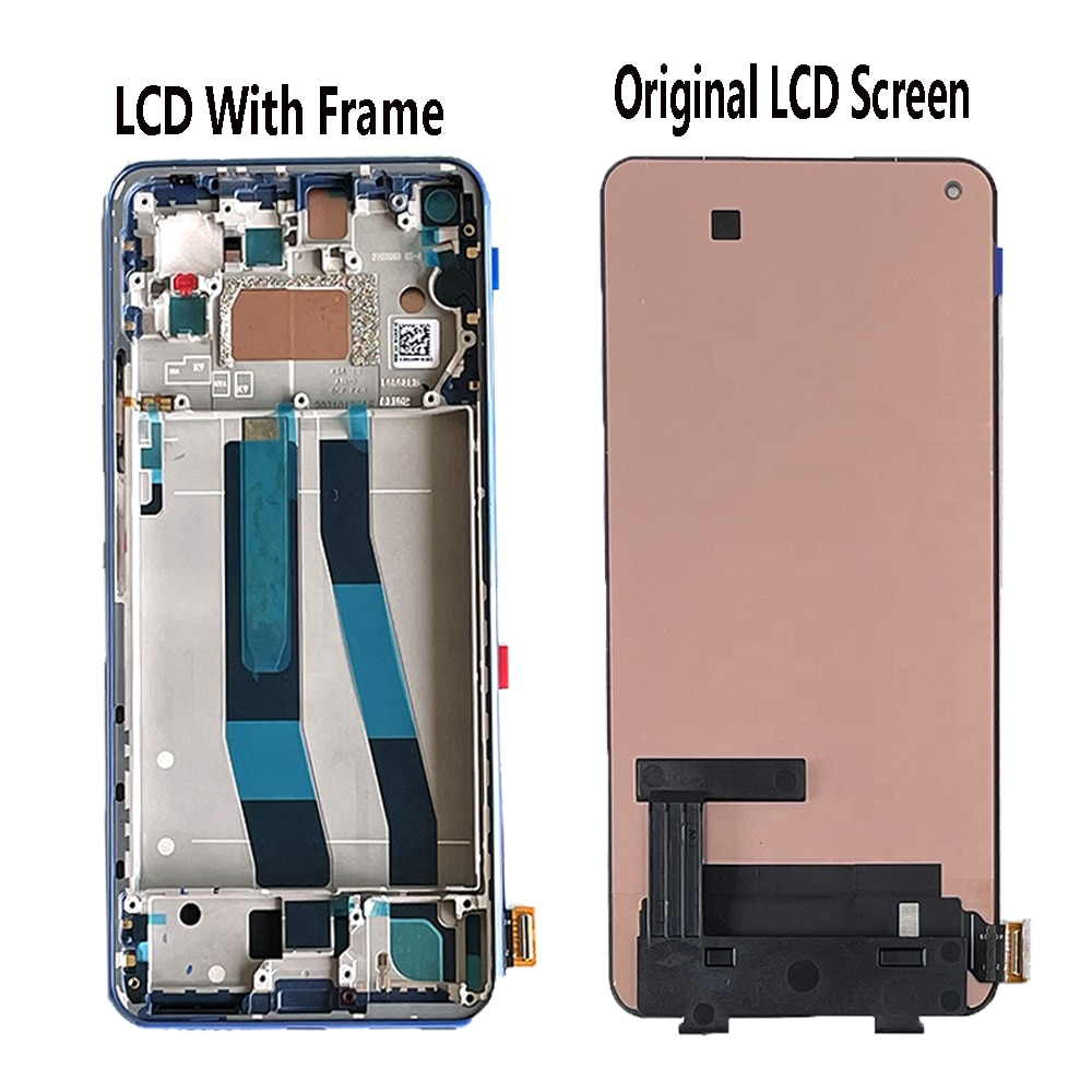 Original AMOLED Screen For Xiaomi Mi 11 Lite M2101K9AG LCD Display Touch Screen Digitizer Assembly For Xiaomi Mi11 Lite Display enlarge