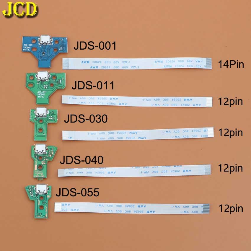 jds 001 jds 011 jds 030 jds 040 usb charging port socket board charger board with flex ribbon cable for ps4 pro controller board JCD For PS4 controller USB Charging Port Socket Charger Board With Ribbon Flex Cable JDS-001 JDS-011 JDS-030 JDS-040 JDS-055