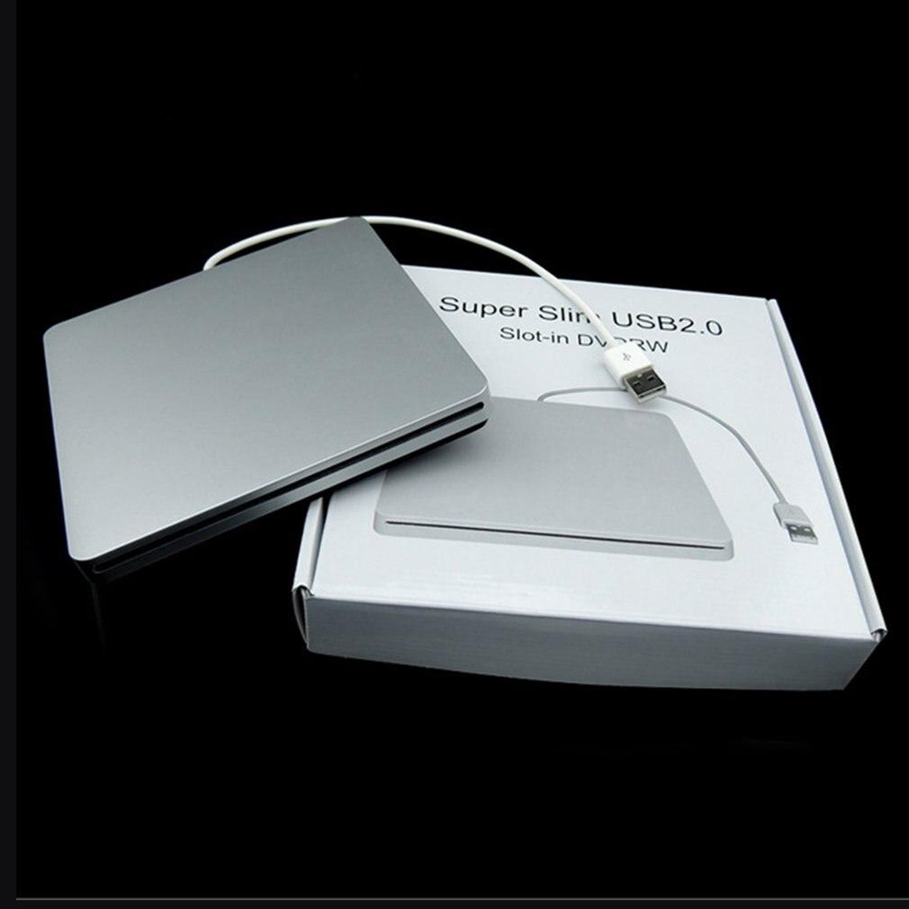 DVD-RW unidad de DVD externa para ordenador portátil, caja de cierre, succión...