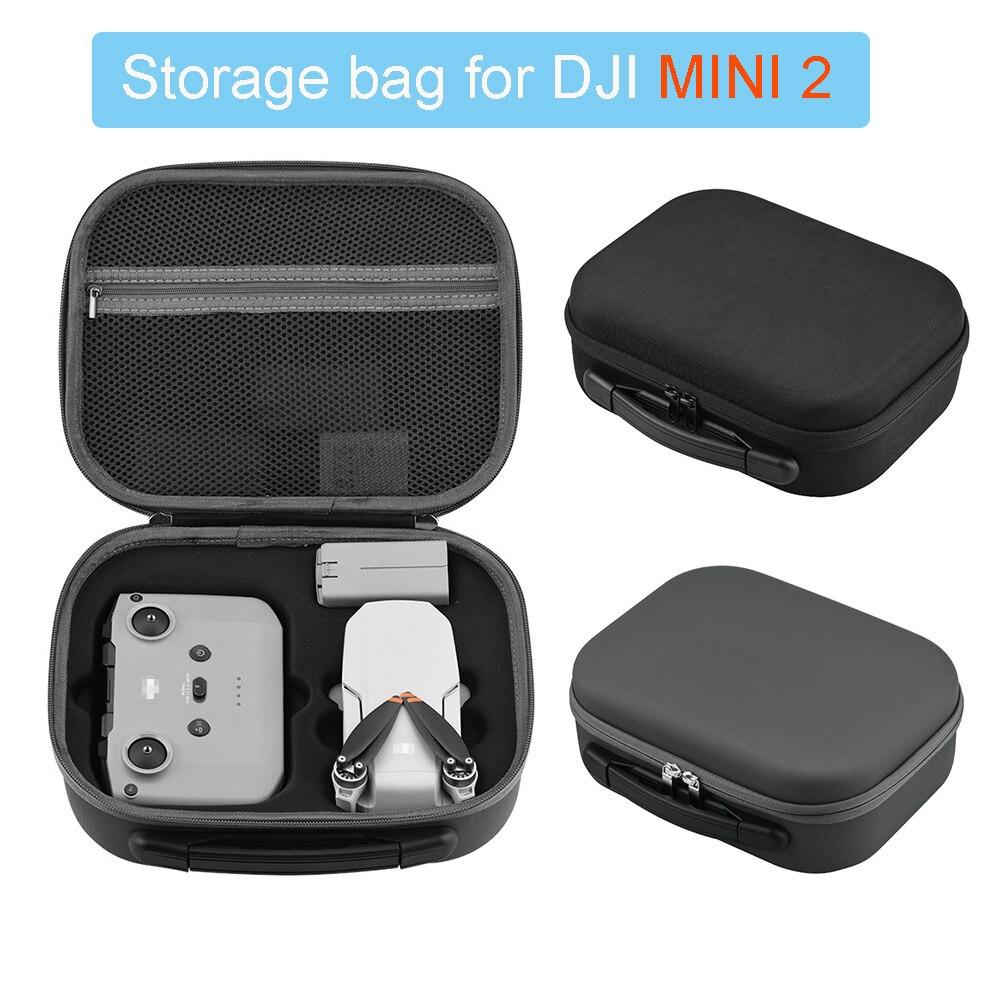 Portable Waterproof Storage Bag for DJI Mavic Mini/MINI 2 Hard Shell Drone Handbag Shoulder Bag Outdoor Carry Box Case Accessory