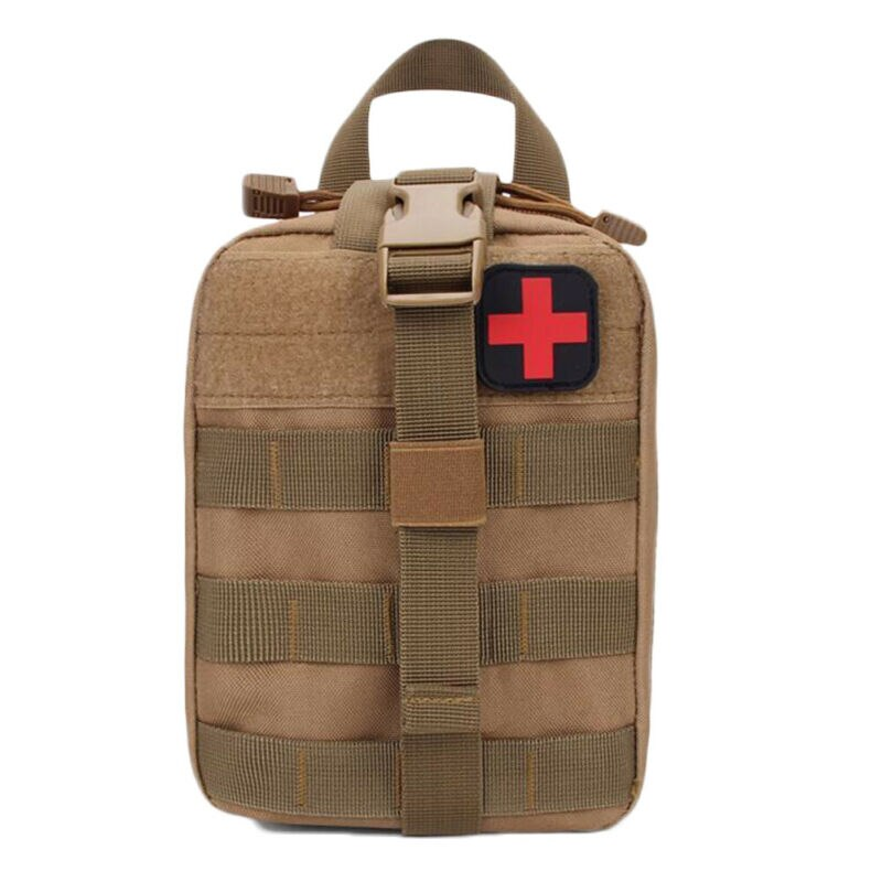 Nuevo Kit táctico de primeros auxilios bolsa de supervivencia Molle Rip Away Emt medico Ifak bolsa médica de camuflaje para deportes al aire libre Kit de primeros auxilios bolsa