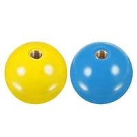 uxcell joystick head rocker ball top handle arcade game replacement yellowblue