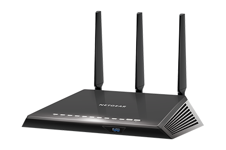 NETGEAR R6900 Смарт Wi-Fi роутер NIGHTHAWK AC1900 двухдиапазонный MU-MIMO 4xGigabit 1900 Мбит/с 802.11ac двухдиапазонный гигабитный