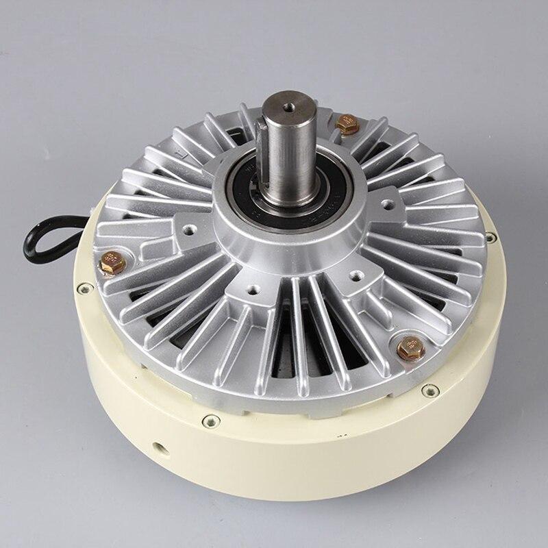 2.5kg 25N.m Single-axis Magnetic Powder Brake, Unwinding Tension Control Air Expansion Shaft