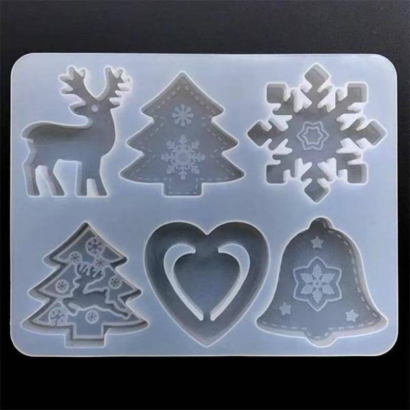 Рождественское-украшение-в-виде-делая-ассорти-Рождество-силиконовая-форма-для-кабошонов-Рождественская-елка-олень-Снежинка»-«jingle-форма-в