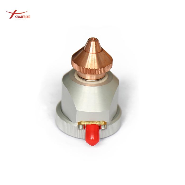 Original Raytools Laser cutting head BT210/BT240/BMH111Laser Capacity Head Nozzle connector enlarge
