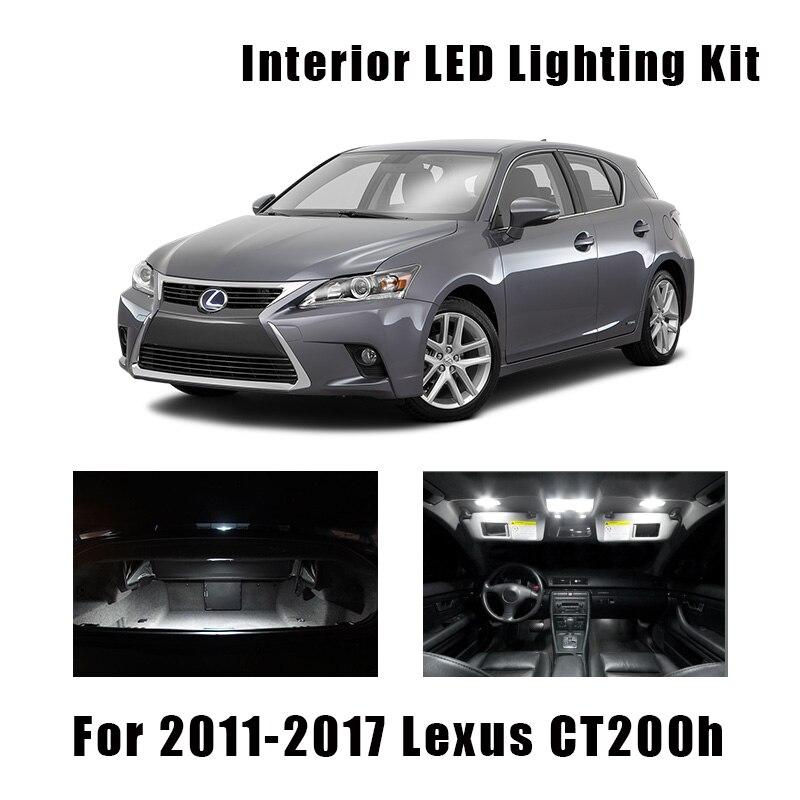 Bombillas LED Canbus blancas para Interior de coche, Kit de luz de...