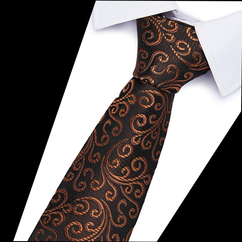6cm Ties for Men Skinny Mens Ties Gravatas Slim Corbatas Vestidos Wedding Silk Polyester Groom Neck Tie Cravat Necktie недорого