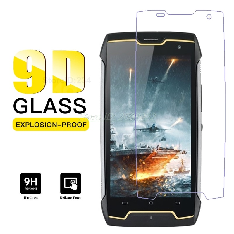 "3-1 Uds vidrio templado para Cubot King Kong CS Protector de pantalla 9D película protectora frontal de teléfono móvil para Cubot King Kong CS 5,0"""