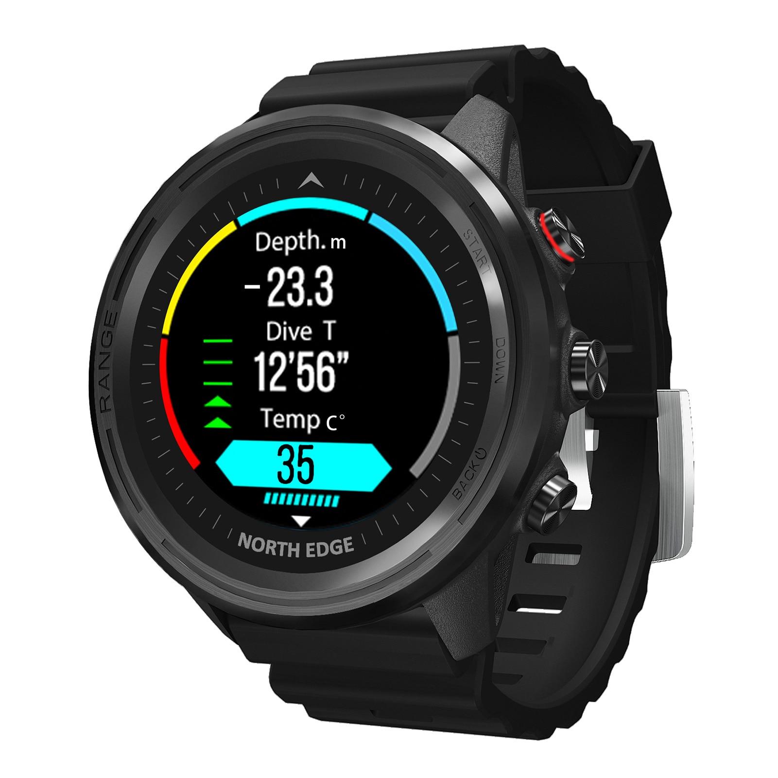 NORTH EDGE Range5 Watches Smart Watch Men Women Heart Rate Monitor Fitness Sport Watches GPS Activity Tracker Smartwatch