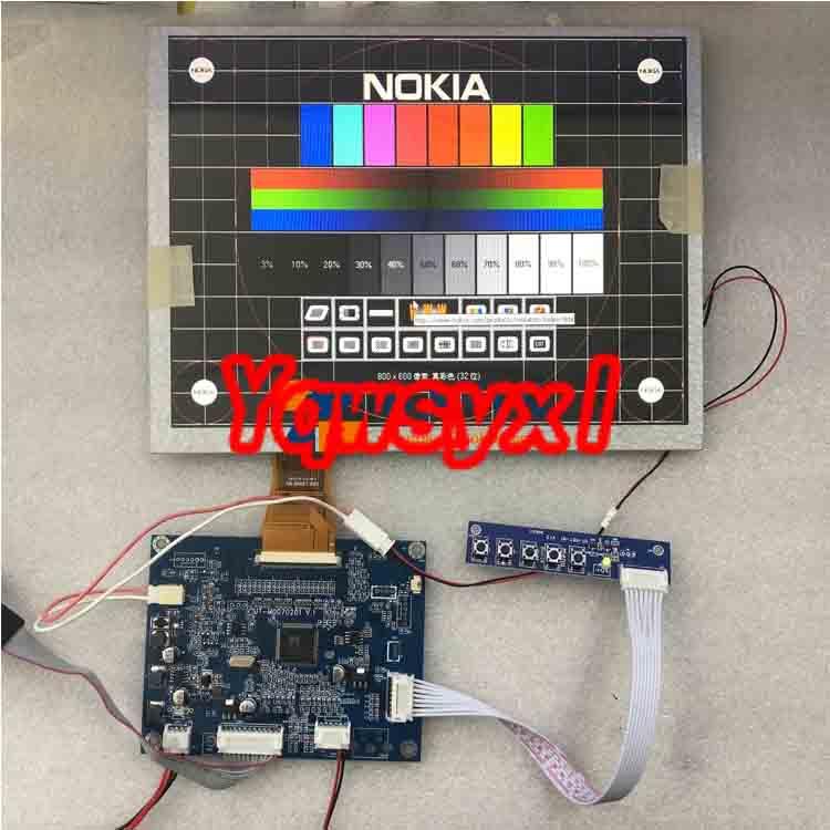 "Yqwsyxl VGA+AV LCD Controllerplatine 10.4"" LCD Display Screen for Innolux  LSA40AT9001 800x600  LCD  SDispaly Panel Screen"