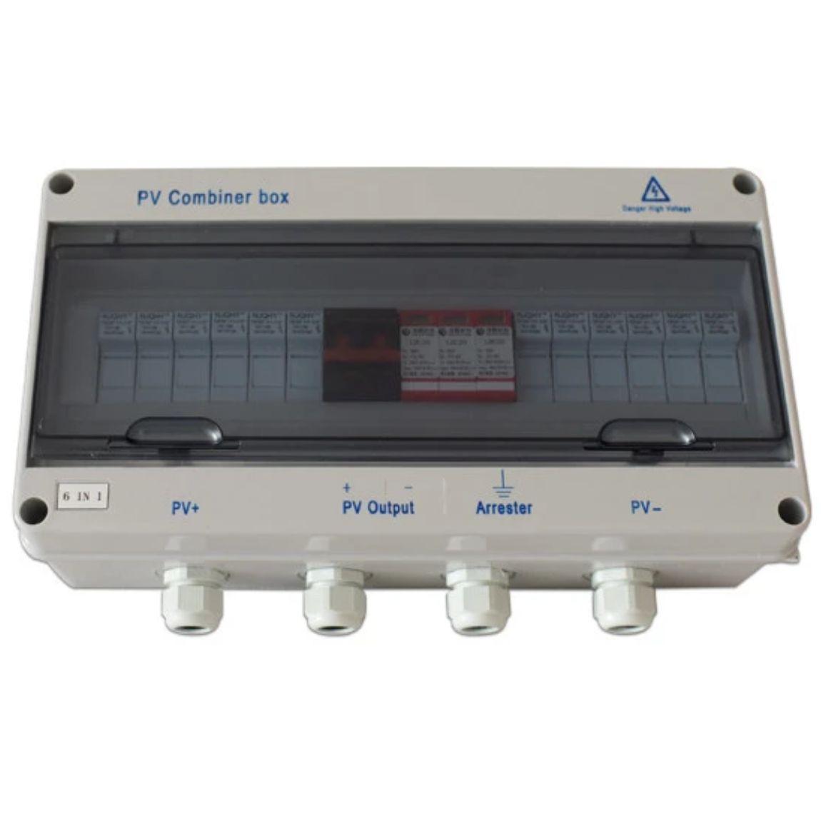 صندوق توصيل مقاوم للماء 5 في 1 ، 6 في 1 ، صندوق توزيع الطاقة الشمسية