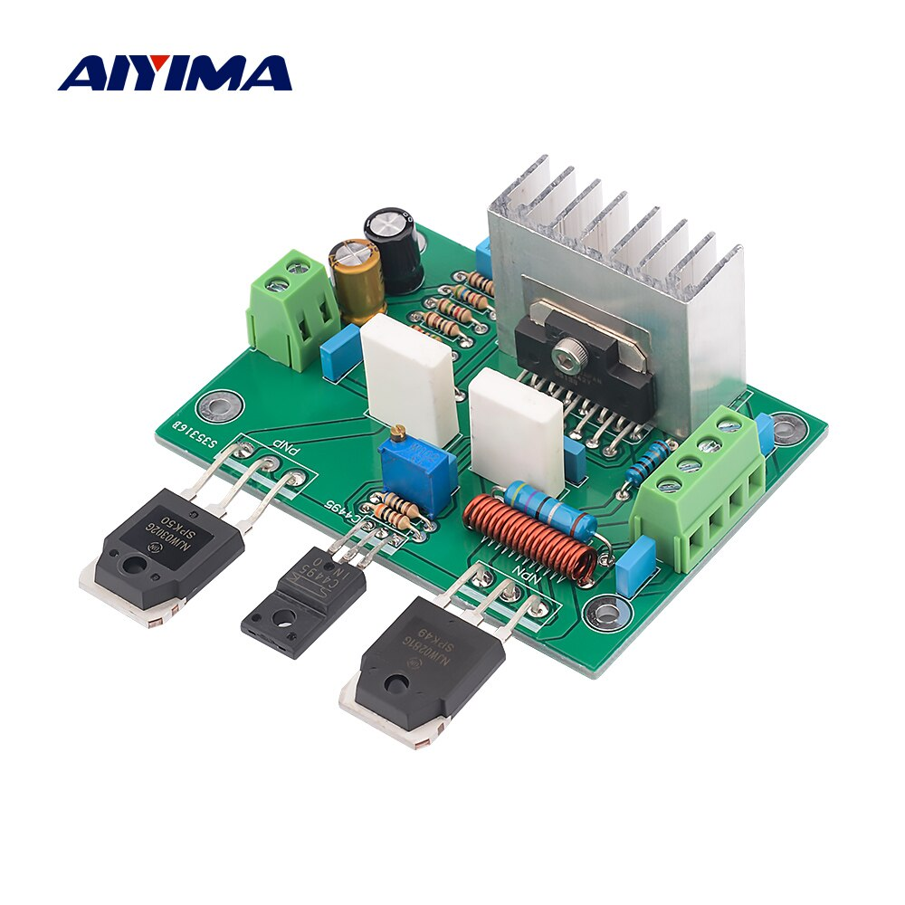 Aiyima 150w upc1342v amplificador de potência placa áudio mono amplificadores de som mini amplificador de áudio em casa para alto-falante de cinema em casa