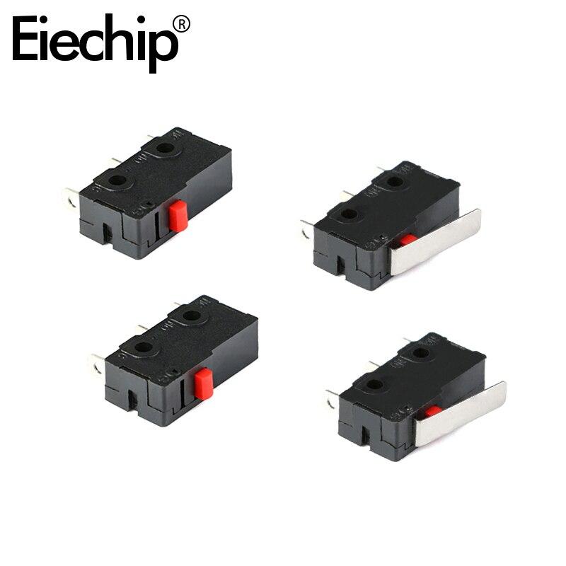 Мини микро концевой выключатель 20 шт./лот 20*6,4*11 мм 1A 125 В переменного тока переключатель мыши 3 штырька C-NO-NC Микро выключатель кнопка Микро Вы...