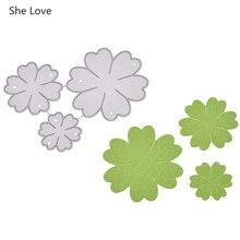 She Love 2020 New Flower Metal Cutting Dies For Paper Card Making Decorative Scrapbooking Dies Handmade Materials