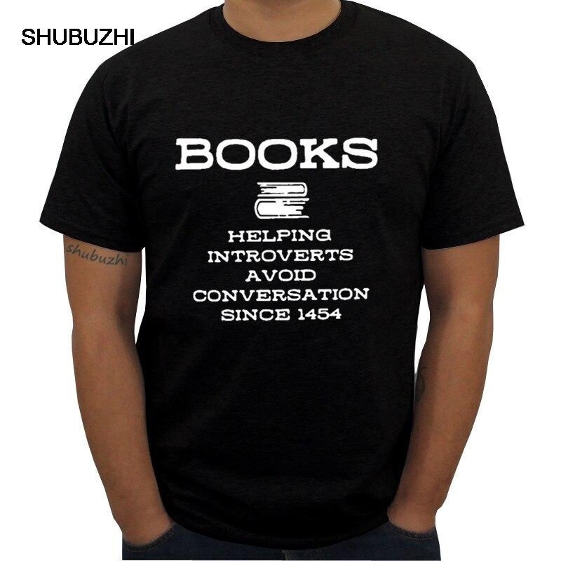 Camiseta de algodón con cuello redondo casual hip-hop para hombre con libros que ayudan a los intrusos a evitar shubuzhi