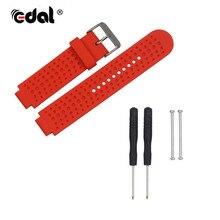 Bracelets de montre en Silicone pour Garmin Forerunner 220 230 235 630 bracelets de montre de remplacement avec broches et outils