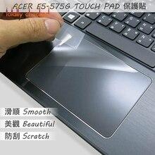 2 PIÈCES Mat Touchpad Autocollant de film Protecteur pour ACER Aspire E15 E5-575G E5-576G E5-576 E5 576G E5-575g 575G 2017 2018 Tablette tactile