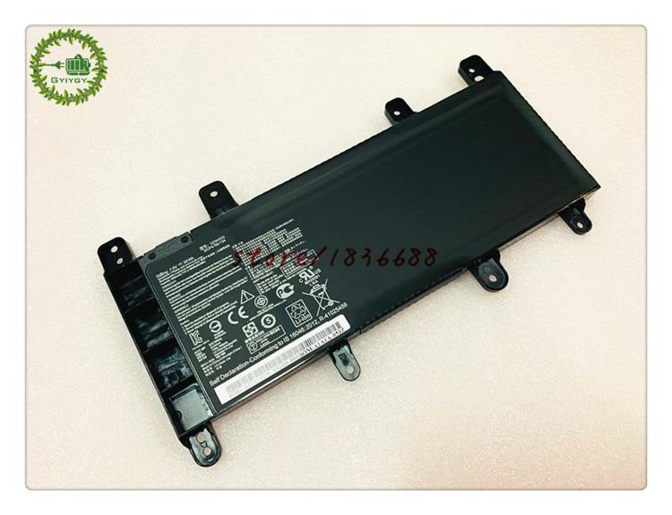 GYIYGY 7.6V 38Wh C21N1515 Laptop Battery For Asus X756UJ X756UA X756UX X756UB X756UQ X756UV Notebook computer