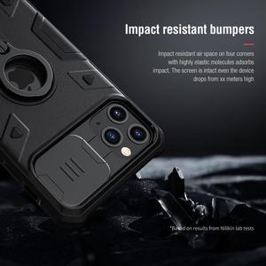 Image 5 - Защитный чехол для камеры iPhone 11 Pro Max Ring stand, чехол NILLKIN Slide для iPhone 11 6,5, 2019, чехол для iPhone 11 Pro