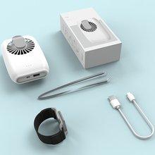 Ventilateur de taille suspendu ventilateurs de poche USB Mini-tenir les ventilateurs étudiant à lextérieur apporter ventilateur Portable DC Mini refroidisseur dair Ventilador